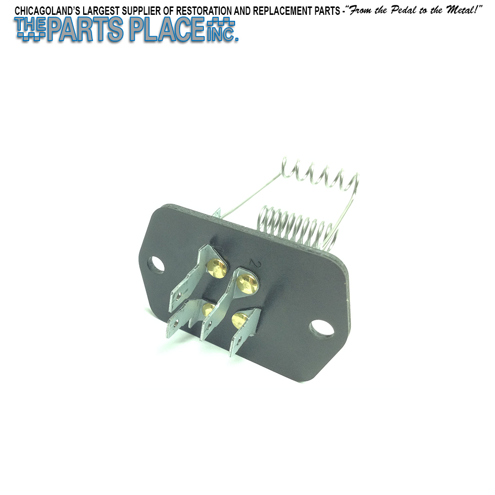 1969 Chevelle Malibu Parts The Blower Resistor Motor And Wiring To Components With A C 4 Prong Gm 3949879 6262651 Hs81033z