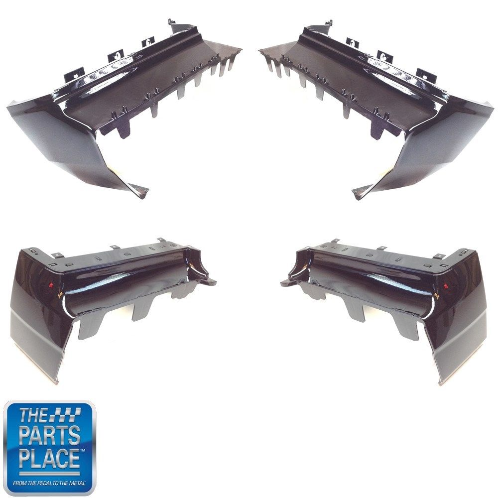 1987 Skylark Gs Regal Gn Parts Wiring Diagram For 1965 Buick Special And Part 2 Gnx Oem Quality Front Rear Painted Bumper Fillers Black Lh Rh Gm 20428396 20428397 12336190 12336191 Set Of 4 Bp6192s