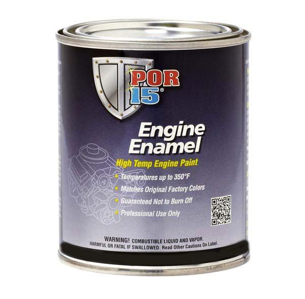 POR 15 ENGINE ENAMEL (BLACK) - QUART | PT4022Z