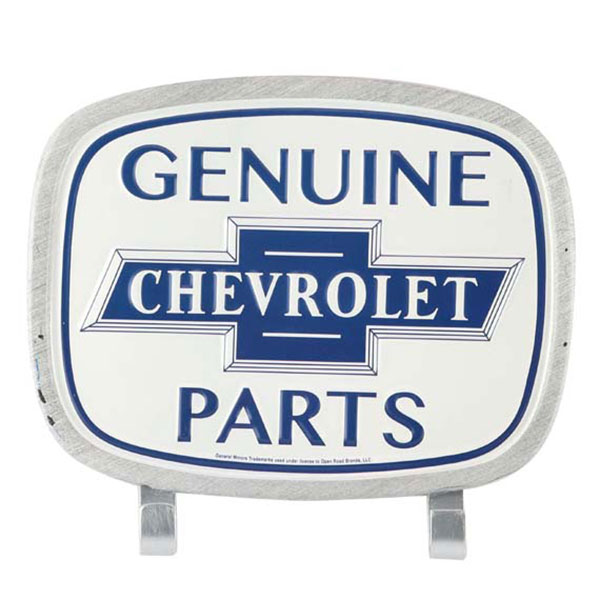 Chevy II Genuine Chevrolet Parts Wall Hook Tin Sign 8