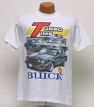 Buick Turbo Time T-Shirt - TS029 | TS029