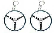 <span class='part-title-model'>Oldsmobile Full Size</span> OFFICIALLY LICENSED NHRA ''STEARRINGS'' EARRINGS - BLUE | BK1234Z