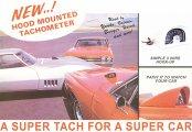 1987 Oldsmobile Cutlass/442/F85 NEW DIXCO STYLE HOOD TACH - 8000 RPM | BP12555Z