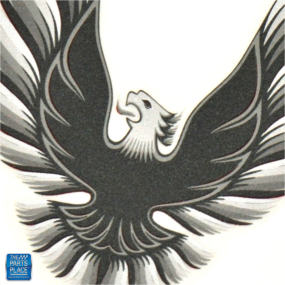 "1976-1978 Firebird Trans Am Sail Panel /""Bird/"" Decal EA"
