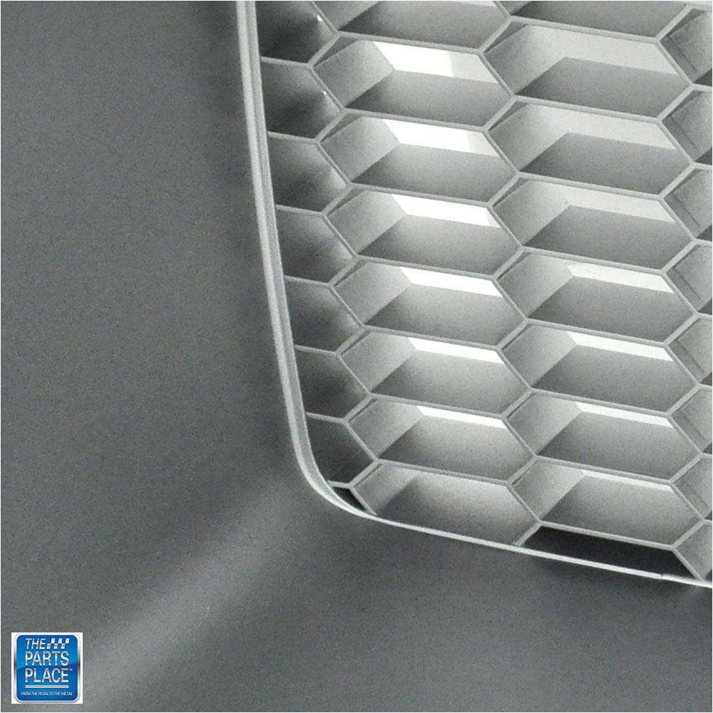 1972 Pontiac Firebird Standard Silver Grille RH Each