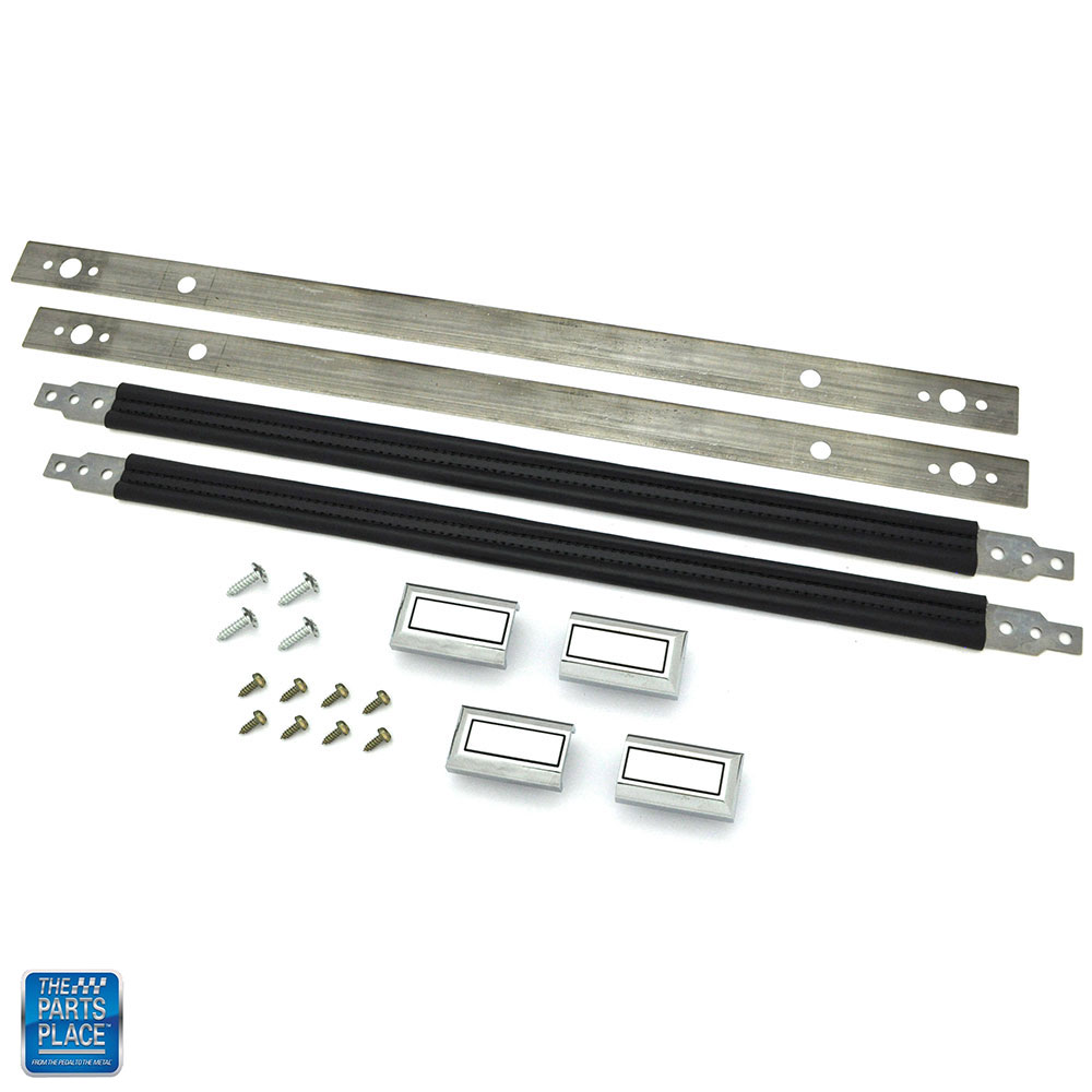 Details about 1978-1988 GM G Body Door Panel Interior Pull Straps Kit Black  19