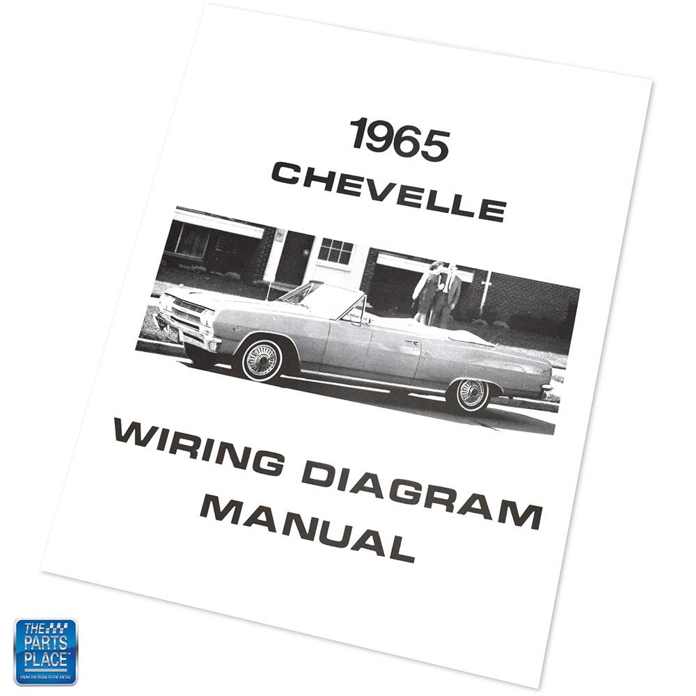 1965 Chevelle Wiring Diagram Manual Brochure Each