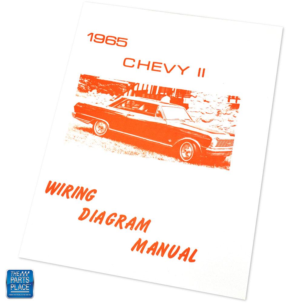 1965 Chevy II Wiring Diagram Manual Brochure Each | eBay
