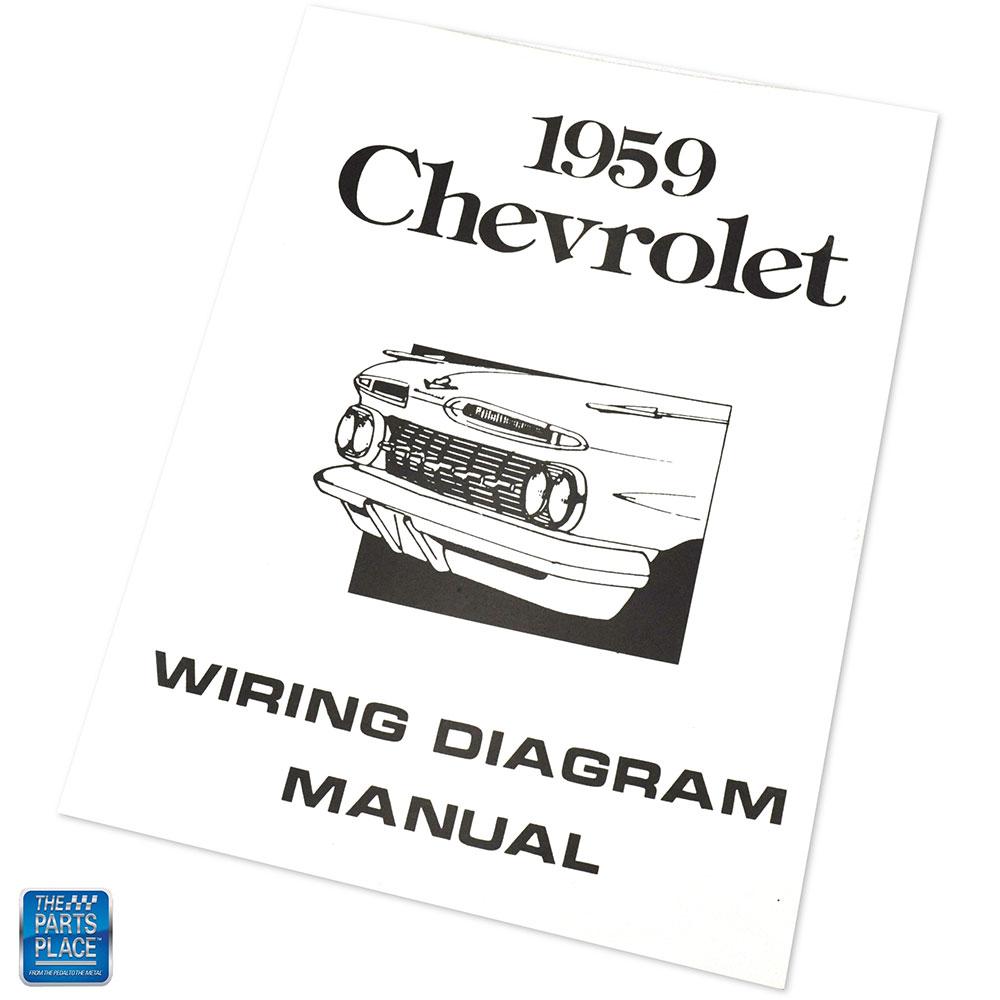 1959 Chevrolet Impala Bel Air Wiring Diagram Manual Brochure Each | eBay | Chevrolet Wiring Diagram Serieis 2 For 1959 Chvy Biscayne |  | eBay
