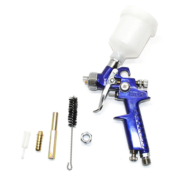 POR-15 HIGH VOLUME LOW PRESSURE GRAVITY FEED DETAIL TOUCH UP GUN EXCELLENT FOR SPRAYING POR-15 PAINT | PT1420Z
