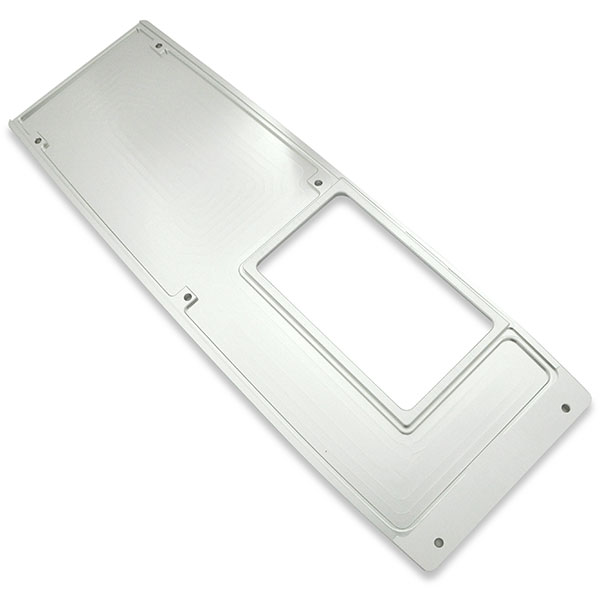 1969 Chevrolet Camaro BILLET ALUMINUM CONSOLE COVER LONG (6-SPEED MANUAL) BRUSHED | CP3370R