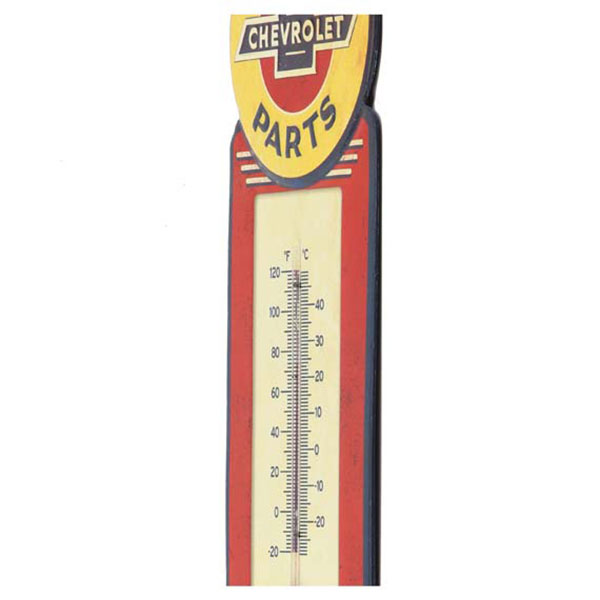 Chevrolet Tin Thermometer Sign 5.5