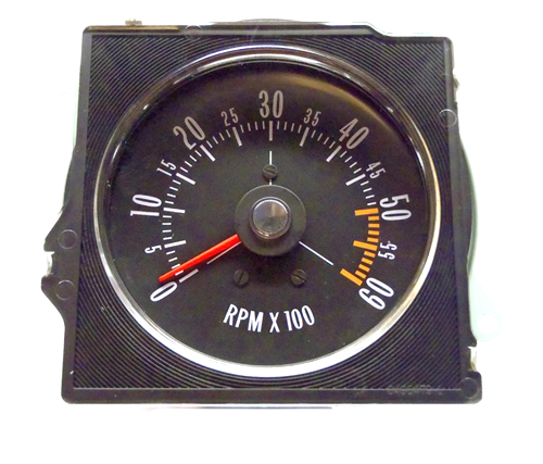 1970 Buick Skylark/GS/Regal/GN NEW IN-DASH TACH WITH FLAT