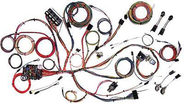 1966 Ford Mustang Classic Wiring Complete Update   510125