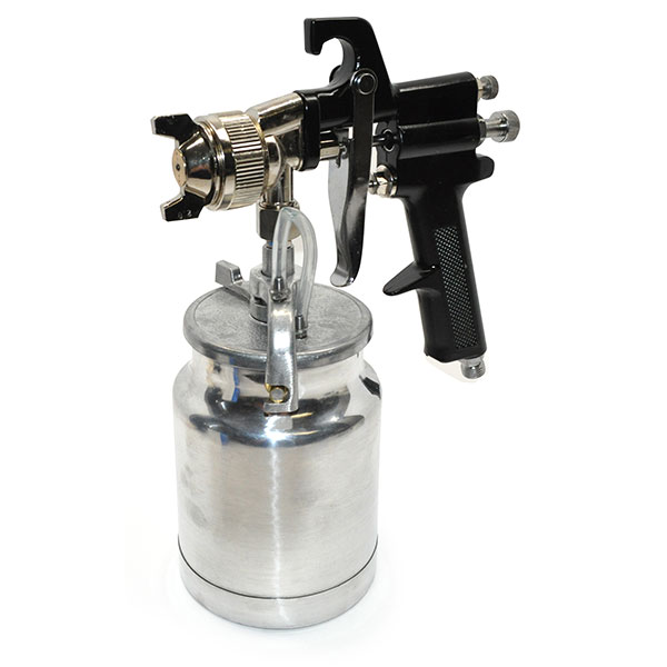 POR-15 HIGH PRESSURE AIR SPRAY GUN WITH 1-QUART CUP EXCELLENT FOR SPRAYING POR-15 PAINT OR TRUNK SPLATTER PAINT | PT1421Z
