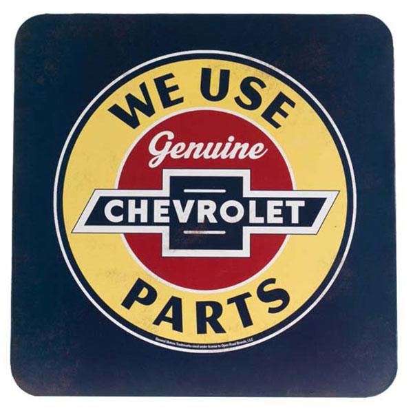 "CHEVROLET PARTS TIN CABINET 12"" X 12"" | 90159213-S"