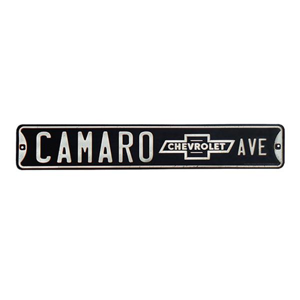 Camaro Embossed Tin Sign 20
