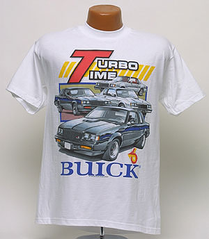 Buick Turbo Time T-Shirt - TS029 | TS029
