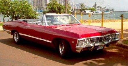 1967 Chevrolet Impala/Caprice/Bel Air DOOR JAMB VIN DECAL